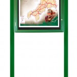 Pg 14 Varicase Single Door Post Mounted Green