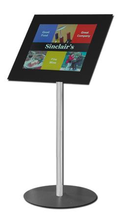 Pg 32 Digital Notice board (LCD) SM Black