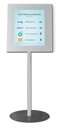 Pg 32 Digital Notice board (LCD) SM Silver