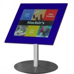Pg 32 Digital Notice board (LCD) Tabletop SM