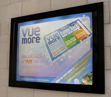 Pg 34 Slimline Cinema Poster Case Landscape