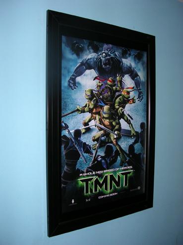 Pg 34 Slimline Cinema Poster Case Portrait